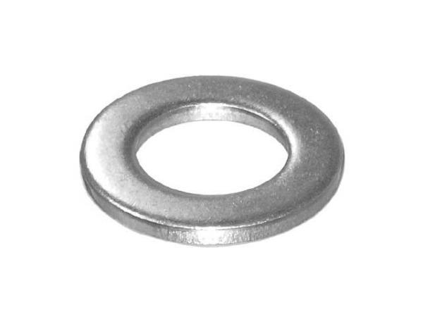 Шайба М10 плоская, нерж.сталь (А2), din 125 (500 шт в карт. уп.) (starfix)