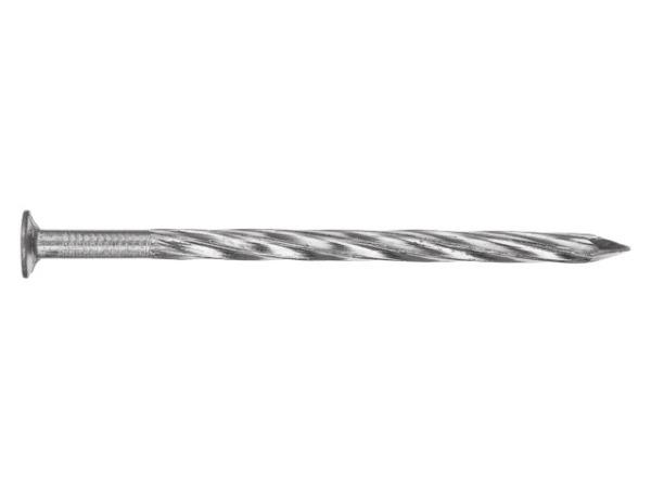 Гвозди винтовые 3.4х80 мм ГОСТ 7811-7335 (1 кг в пласт. конт.) starfix
