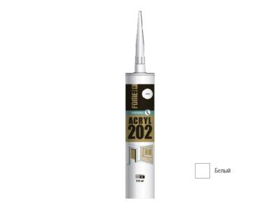 Герметик акриловый fome flex acryl 202 (бел.) 310мл