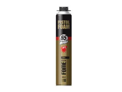 Пена монтажная профессиональная fome flex «pistol foam mega» 65l (890мл) (Выход до 65л)