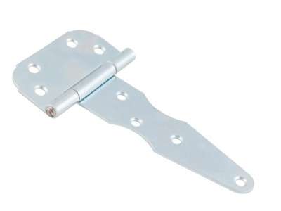 Петля-стрела 150 мм, белый цинк starfix