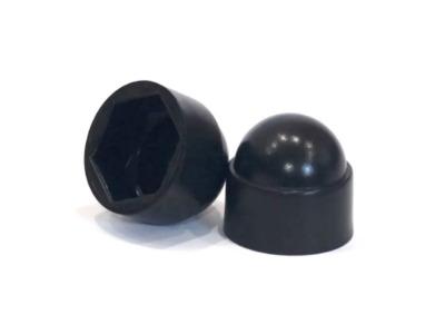 Колпачок на болт/гайку М12/s19 черный (200 шт в пакете) (starfix)