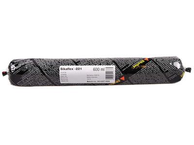 Клей-герметик полиуретановый sikaflex-221 черный 600 мл