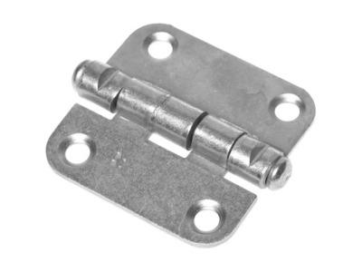 Петля 40 мм универсальная, белый цинк starfix (неразъемная)