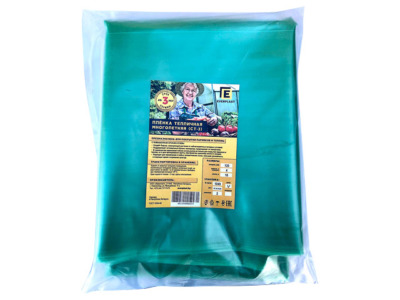 Пленка полиэтиленовая тепличная 4х10м, 120мкм (первич.) (ЭВЕРПЛАСТ)