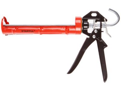 Пистолет д/герм. полукорпусной 310мл startul master (st4051) (круглый шток)