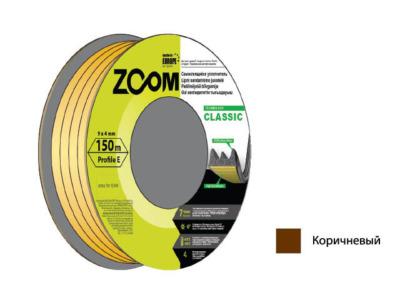 Уплотнитель «e» коричневый 150м zoom