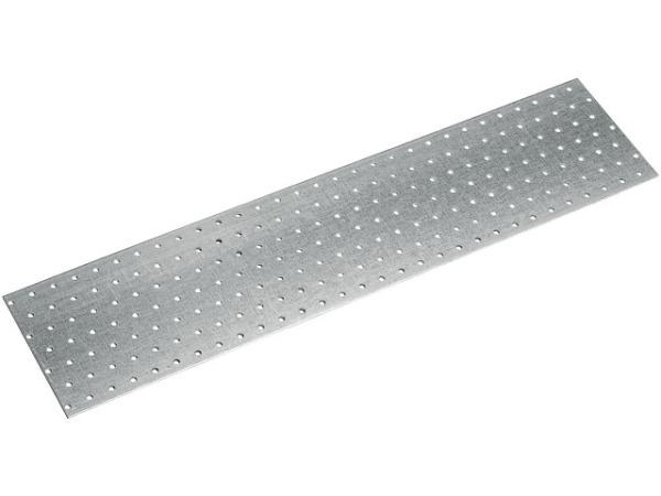 Пластина соединительная 40х200 мм ps белый цинк starfix