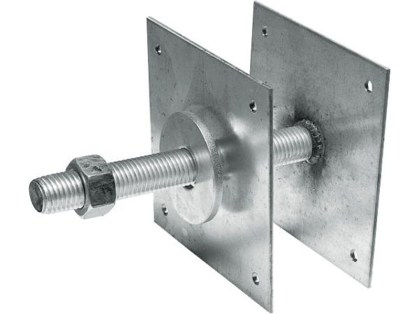 Опора регулируемая (150 мм) М24 arh белый цинк starfix