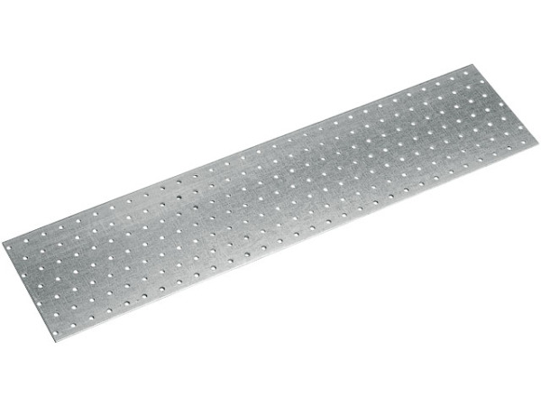 Пластина соединительная 80х400 мм ps белый цинк starfix