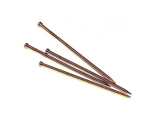 Гвозди финишные 1.4х25 мм бронза (0.2 кг в пласт. конт.) starfix