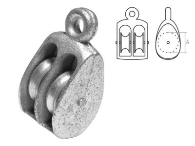 Блок двойной bk-duplex металл 15 мм starfix