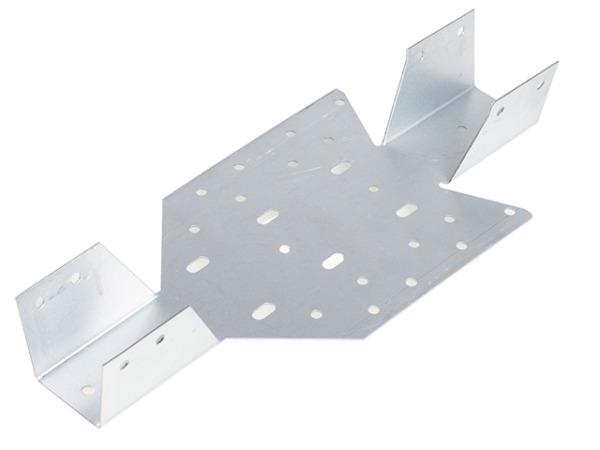 Опора балки универсальная 40х140х1 мм starfix