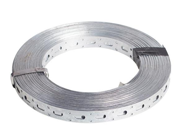 Лента перфорированная прямая 0.55х20 мм (рулон 25м) starfix