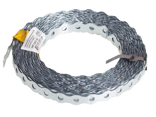 Лента перфорированная волна 0.7х25 мм (рулон 25м) starfix
