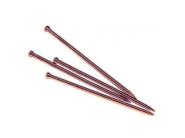 Гвозди финишные 1.2х30 мм медь (0.2 кг в пласт. конт.) starfix