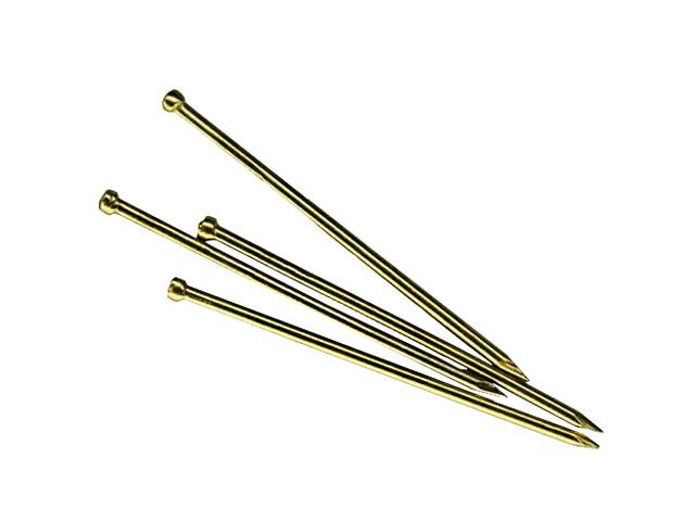 Гвозди финишные 1.4х60 мм латунь (0.2 кг в пласт. конт.) starfix