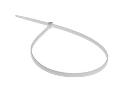 Хомут-стяжка 2.5х200 мм белый (100 шт в уп.) starfix