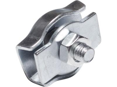 Зажим для стальных канатов одинарный 8 мм simplex starfix