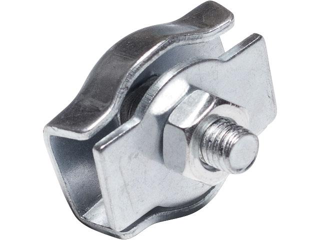 Зажим для стальных канатов одинарный 3 мм simplex starfix