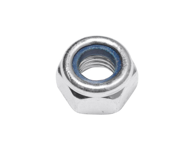 Гайка М14 со стопорным кольцом, цинк, din 985 (1000 шт в коробе) starfix