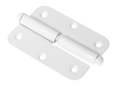 Петля 110 мм левая, белая starfix (разъемная)