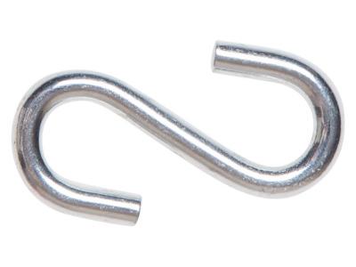 Крючок s-образный металлический 8 мм starfix