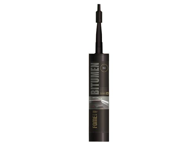 Герметик битумный fome flex «bitumen» (черн.) 300мл