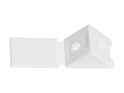 Уголок мебельный пласт. белый starfix