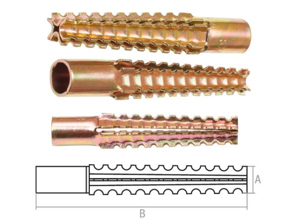 Дюбель для газосиликатных блоков 10х60 мм mud (50 шт в карт. уп.) starfix
