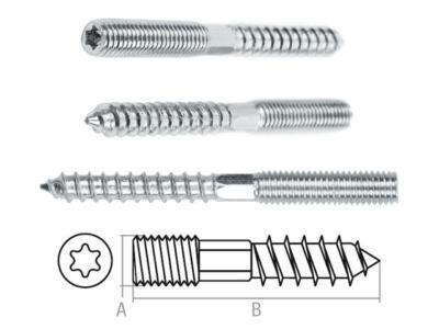 Шуруп-шпилька М8х90 мм starfix