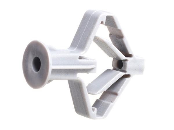 Дюбель для пустотелых конструкций (бабочка) 10х50 мм (6 шт в зип-локе) starfix