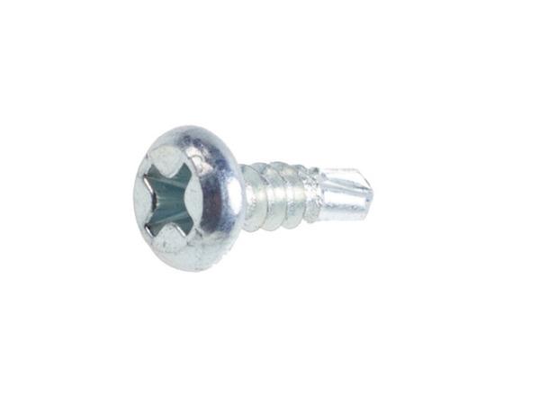 Саморез 3.5х9.5 мм для лист. металла, цинк, со сверлом (250 шт в пласт. конт.) starfix