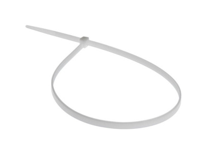 Хомут-стяжка 7.6х250 мм белый (100 шт в уп.) starfix
