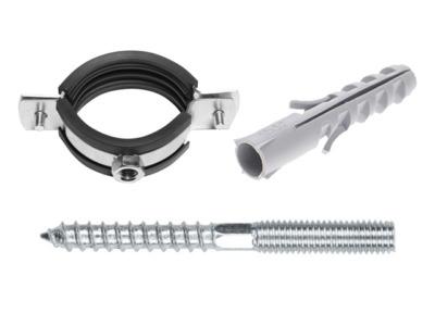 Набор для крепления сантехнических труб(КТР) 4″ (113-118 мм) starfix