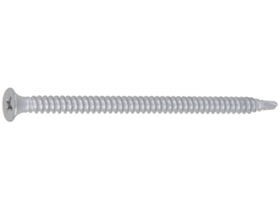Шуруп 4.8х90 мм по металлу, керам. покр., со сверлом, ph2 (200 шт в карт. уп.) (starfix)