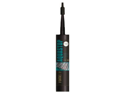 Герметик каучуковый с волокнами fome flex «aquastop» (прозр.) 300мл