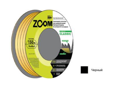Уплотнитель «e» черный 150м zoom